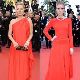Stunning Siblings Kate and Lottie Moss Are Red Hot at the Cannes Film Festival