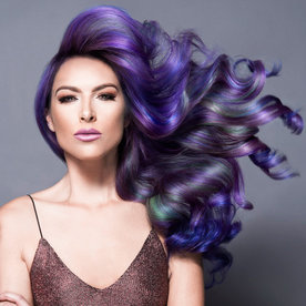 Your Guide to Rocking Instagram's Jewel Toned Hair Trend