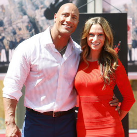 """Dwayne """"The Rock"""" Johnson's Girlfriend Shares an Unbelievably Sweet Video of Their Daughter"""