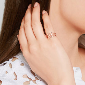 Why a Tiny Pinky Ring Will Strengthen Your Jewelry Game