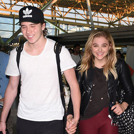 Brooklyn Beckham and Chloë Grace Moretz Look Gym-Ready While Traveling