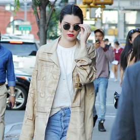 Kendall Jenner's Latest Outfit Exemplifies the Power of Uniform Dressing