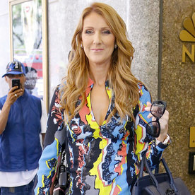 Celine Dion Just Wore the Two Most Colorful Outfits We've Ever Seen