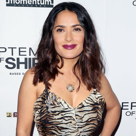 "Salma Hayek Indulges in Her ""Last Gelato"" Ahead of Her 50th Birthday in September"