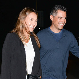 Jessica Alba and Cash Warrenare All Smiles as They Step Out For Date Night
