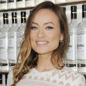 Olivia Wilde Is a Ray of Sunshine as She Flaunts Her Baby Bump in a Vintage Dress