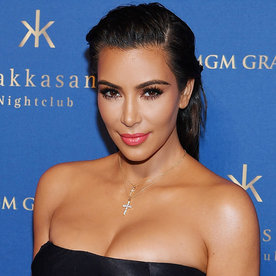 Kim Kardashian West Goes Shopping with Her Girl Squad in Glorified Lingerie