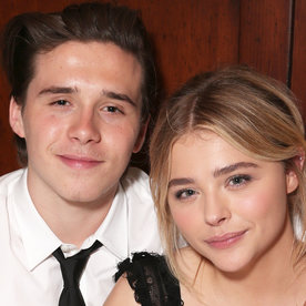 Proud Boyfriend Brooklyn Beckham Shows His Love for Chloë Grace Moretz After Her DNC Speech