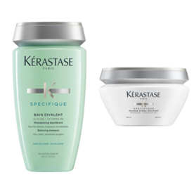 Best Shampoo and Conditioner: Kérastase Specifique Bain Divalent/Masque Hyrda-Apaisant