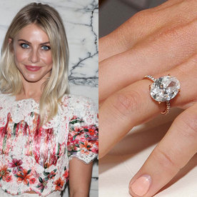 Celebrity Engagement Rings The Most Jaw Dropping A List Sparklers