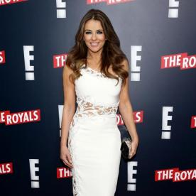 The Royals Elizabeth Hurley On Being Queen InStylecom