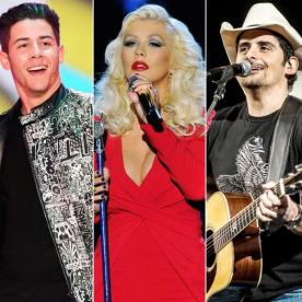 Christina Aguilera, Brad Paisley, and More Join the Performance Lineup at the 2015 ACM Awards