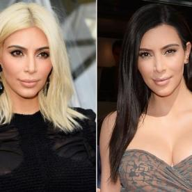 How Kim Kardashian's Hair Stays Unbelievably Shiny Even After Going Blonde and Back