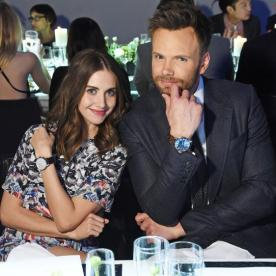 Community's Alison Brie and Joel McHale Bring on the Laughs at Tribeca Film Festival Dinner