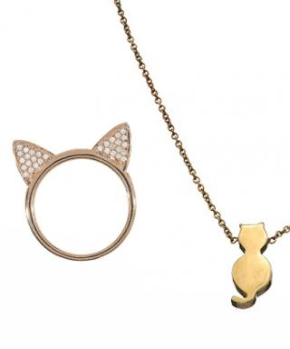Beautiful Cat-Themed Jewelry to Give on Mother's Day