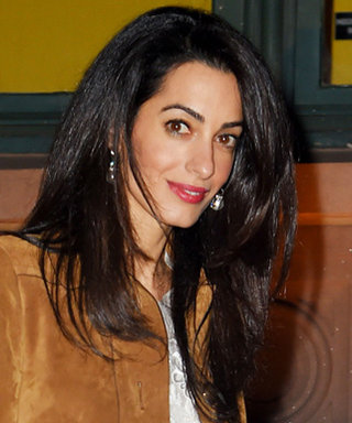 Amal Clooney Channels the '70s in Two Chic Weekend Looks