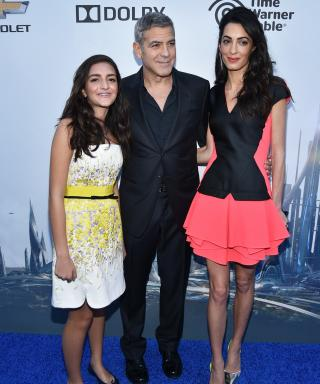 George and Amal Clooney Make the Tomorrowland Premiere a Family Affair