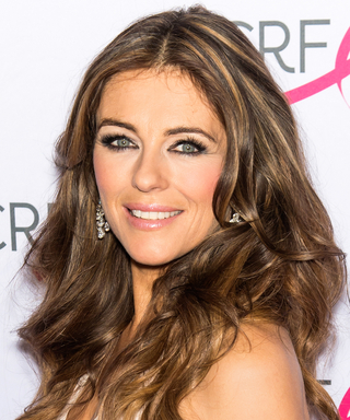 Elizabeth Hurley Pays Tribute to Jackie Collins With a Topless Bikini Photo