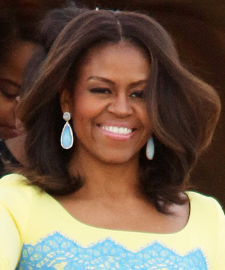 Michelle Obama Lands in London and Her Look Is SoPosh