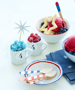 Serve These Star-Spangled Sundaes at Your Fourth of July Party