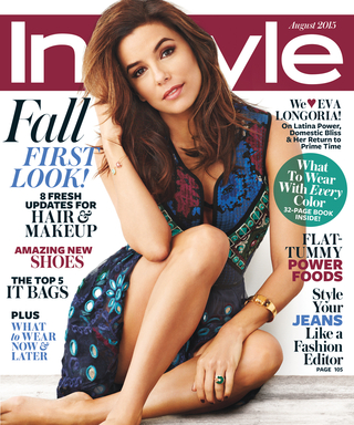 Watch Behind-the-Scenes Video of Eva Longoria's InStyle Cover Shoot