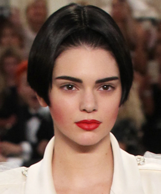 Kendall Jenner Rocks a Faux Bob at Chanel's Haute Couture Show in Paris