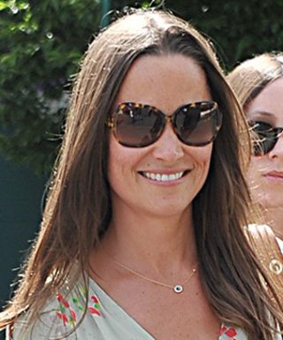 Pippa Middleton Wows at Wimbledon in a Flirty Floral Frock
