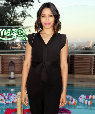"Freida Pinto Explains Why She's Ready to Be ""Badass"""