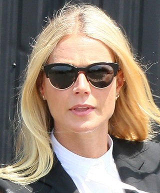 Here's How Gwyneth Paltrow Dresses to Catch a Helicopter