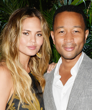 Chrissy Teigen and John Legend's Future Baby Already Has the Cutest Doggy Siblings