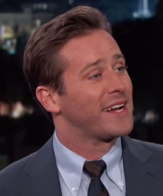 Armie Hammer Recalls That Time He Accidentally Showed Nude Pics to His Hairstylist
