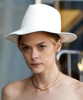Jaime King Steps Out Post-Baby and Looks Amazing in a White Dress