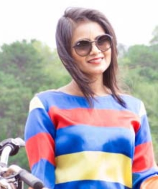 #InspiredByInStyle: Reader of the Week Neha Gandhi on How to Look Good in Stripes