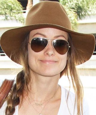 Olivia Wilde's Oversized Hat Tops Off Her Perfect Jet-Setting Ensemble