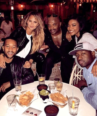 John Legend and Gabrielle Union Showed Off Their Dance Moves for Chrissy Teigen and Dwyane Wade