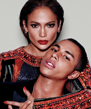 Jennifer Lopez and Olivier Rousteing Turn Up the Heat for Paper's September Cover