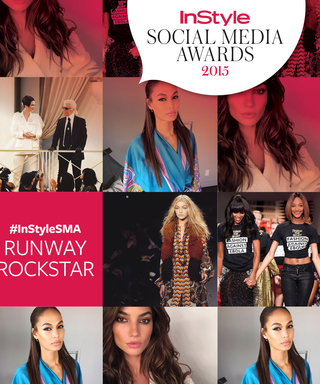 Who Is the Runway Rockstar of the 2015 #InStyleSMA?