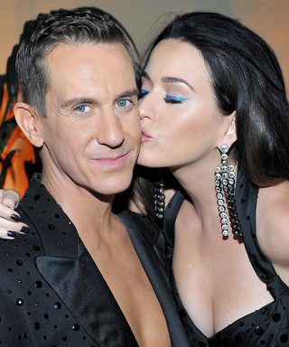 """Jeremy Scott and Katy Perry Share a """"Twinning"""" Moment at the Premiere of His New Documentary"""