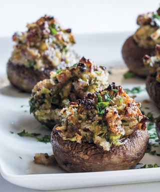 Why Your Next Dinner Party Needs to Include These Sausage-Stuffed Mushrooms