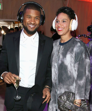 Have Usher and His Fiancée Officially Tied the Knot? The Singer Steps Out Wearing a Wedding Band