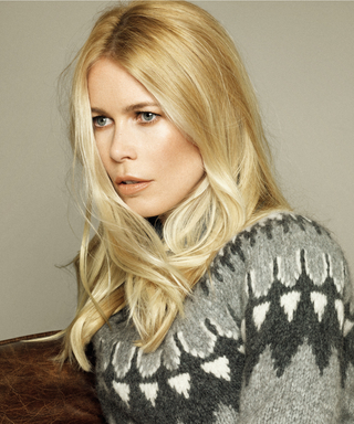 How to Get Cozy with Supermodel Claudia Schiffer