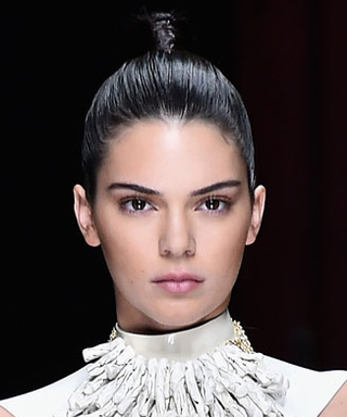 Kendall Jenner Dominates the Balmain Spring 2016 Show—Twice