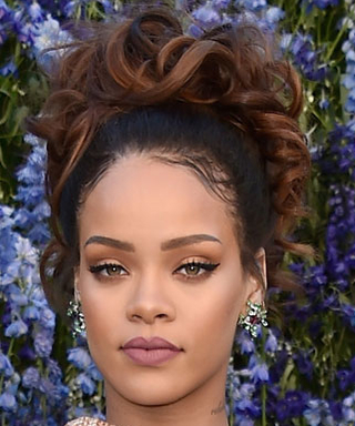 Rihanna Wears the Sweetest Cape Ever at the Dior Spring 2016 Show