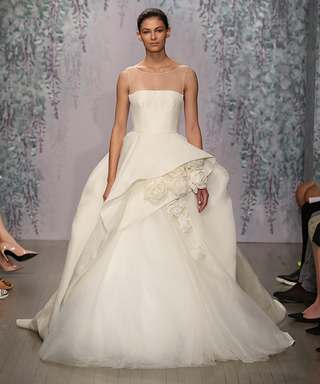 Monique Lhuillier Dreams Up a Garden-Themed Bridal Collection