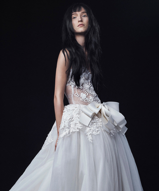 Vera Wang's Newest Bridal Collection Is a Mix of Romance and Danger
