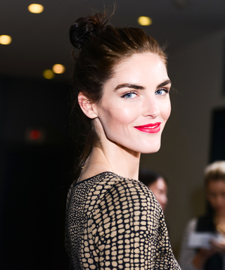 Newly Married Supermodel Hilary Rhoda Stuns as the Face of Dressbarn's New Ad Campaign
