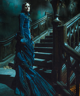 "Crimson Peak's Costume Designer Explains Why Jessica Chastain Wore ""Seven-Inch Stripper Shoes"""