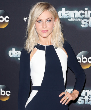 Julianne Hough Rocked a Color-Blocked Dress on Last Night's Dancing with the Stars