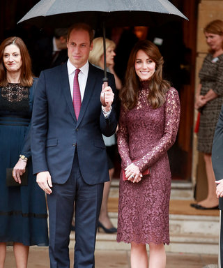 Kate Middleton Opts For a Flirty Lace Dress (and Totally Pulls it Off)