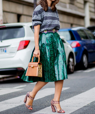 5 Ways to Rock the Sweater-and-Skirt Combo Like a Street Style Star